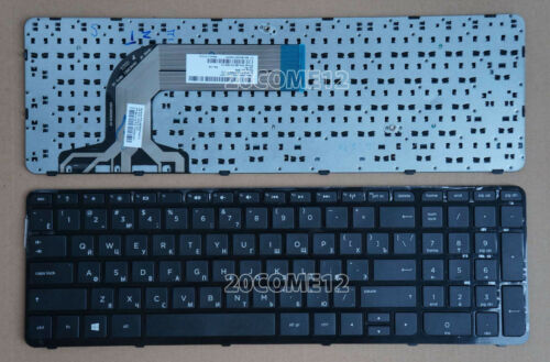For HP Pavilion 17-e016sr 17-e017sr 17-e018sr 17-e025sr Keyboard Russian Frame