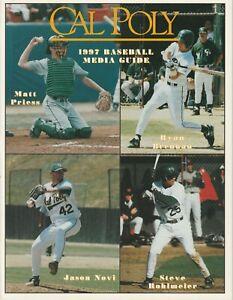 1997-Cal-Poly-San-Luis-Obispo-NCAA-Baseball-Media-Guide
