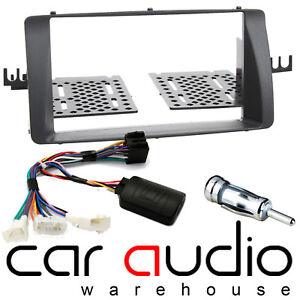 CT23TY07 For A Toyota Corolla E12 Stereo D//Din Fascia Panel /& Steering Wheel Kit