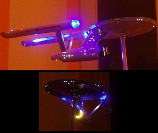 Lighting Set Enterprise 1701 1:1000 Classic / TOS Star Trek AMT POLAR LIGHTS KIT