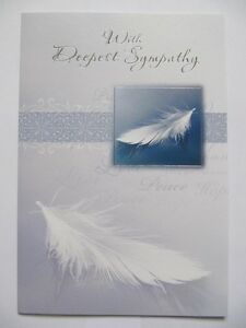Lovely words colourful floating feather with deepest sympathy image is loading lovely words colourful floating feather with deepest sympathy m4hsunfo