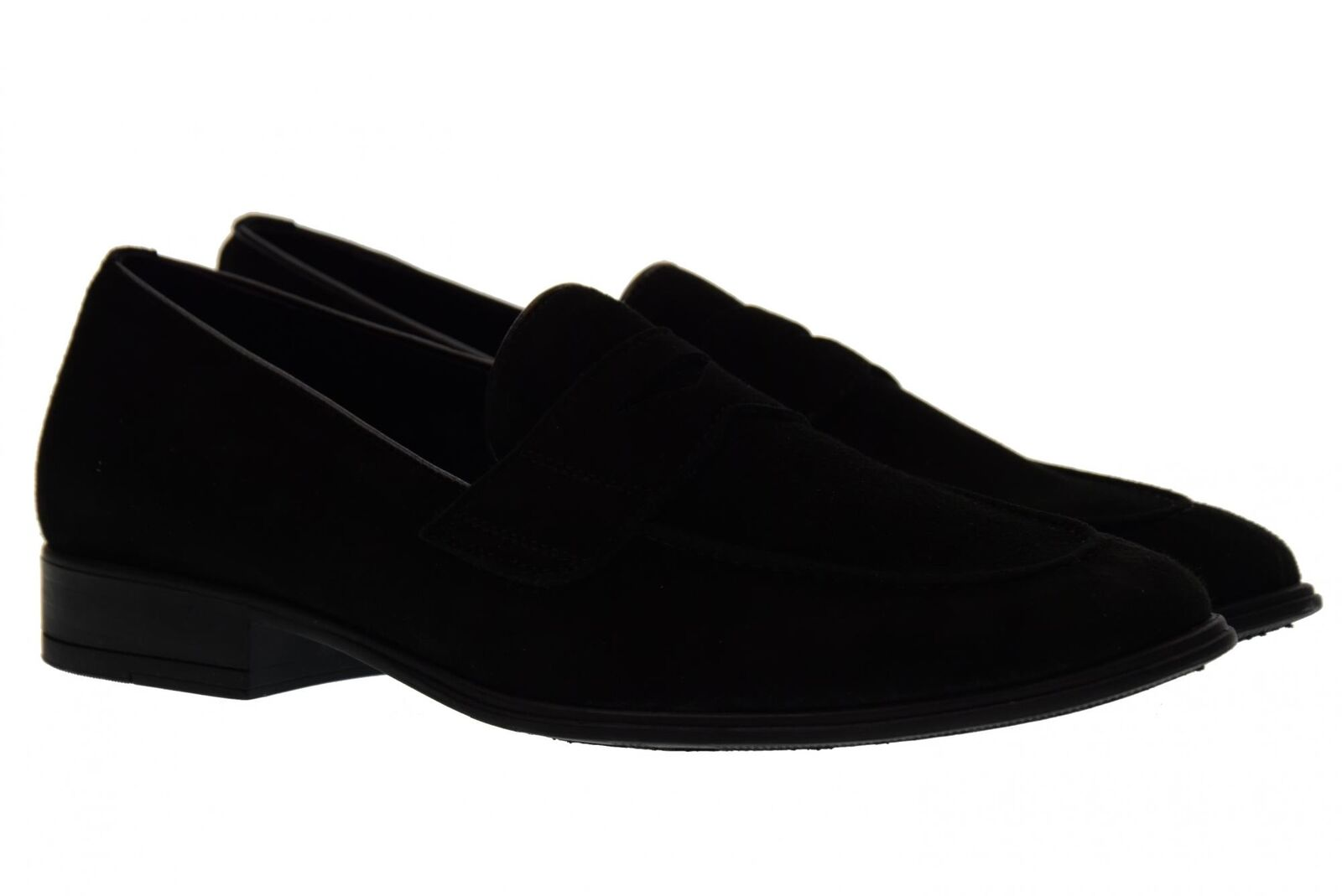 Antica Cuoieria Mannmüßiggänger Schuhe 19763-A-S67 AMALFI BLACK P18g