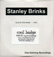 (AB672) Stanley Brinks, End Of The World - DJ CD