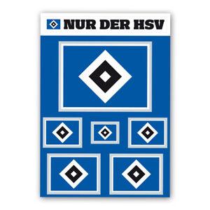 HSV-Aufkleber-Set-034-Raute-034-Hamburger-SV