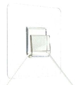 nero 10 pezzi con cinghia di fissaggio Wetec nastro di velcro 13 x 200 mm
