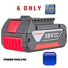 6 ONLY! Bosch 18v 3.0ah Li-ION COOL Battery 2607336235 1600Z00037 3165140730457
