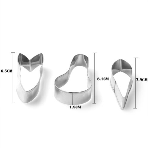 Flower Petal Leaf Stainless Steel Biscuit Cookie Cutter Fondant Cake Decor Mould