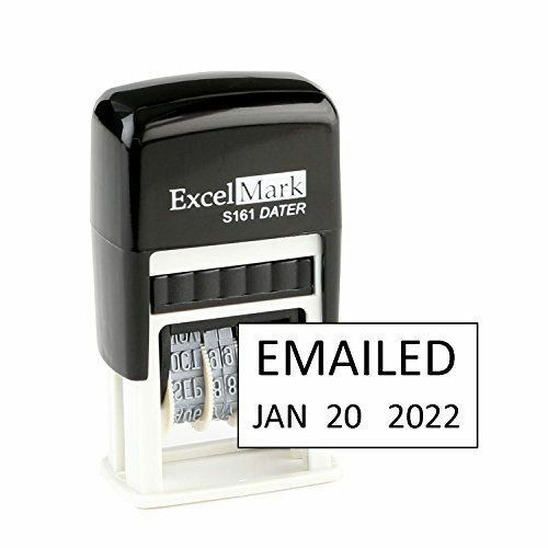 Excelmark Emailed Self Inking Date Stamp S161