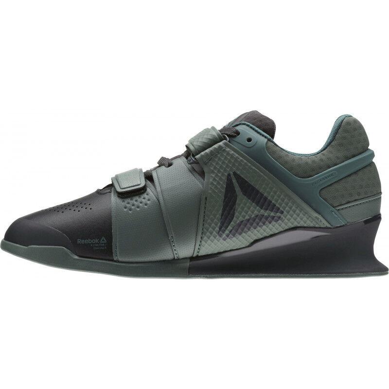 Para Hombre Reebok Legacy Lifter Para hombre Zapatos de Halterofilia-verde
