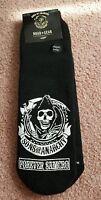 Sons Of Anarchy Forever Samcro Slipper Socks Size 4-10 Soa