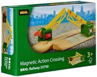 Brio Magnetic Action Crossing Train Accessory Thomas Compatible 33750