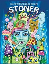 Stoner Coloring Book for Adults: The Stone by Edwina Mc Namee New Paperback Book