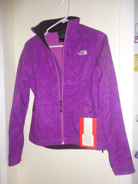 c2a6d6a3cf68 The North Face Women s Apex Bionic Soft Shell Jacket XS Plush Purple for  sale online