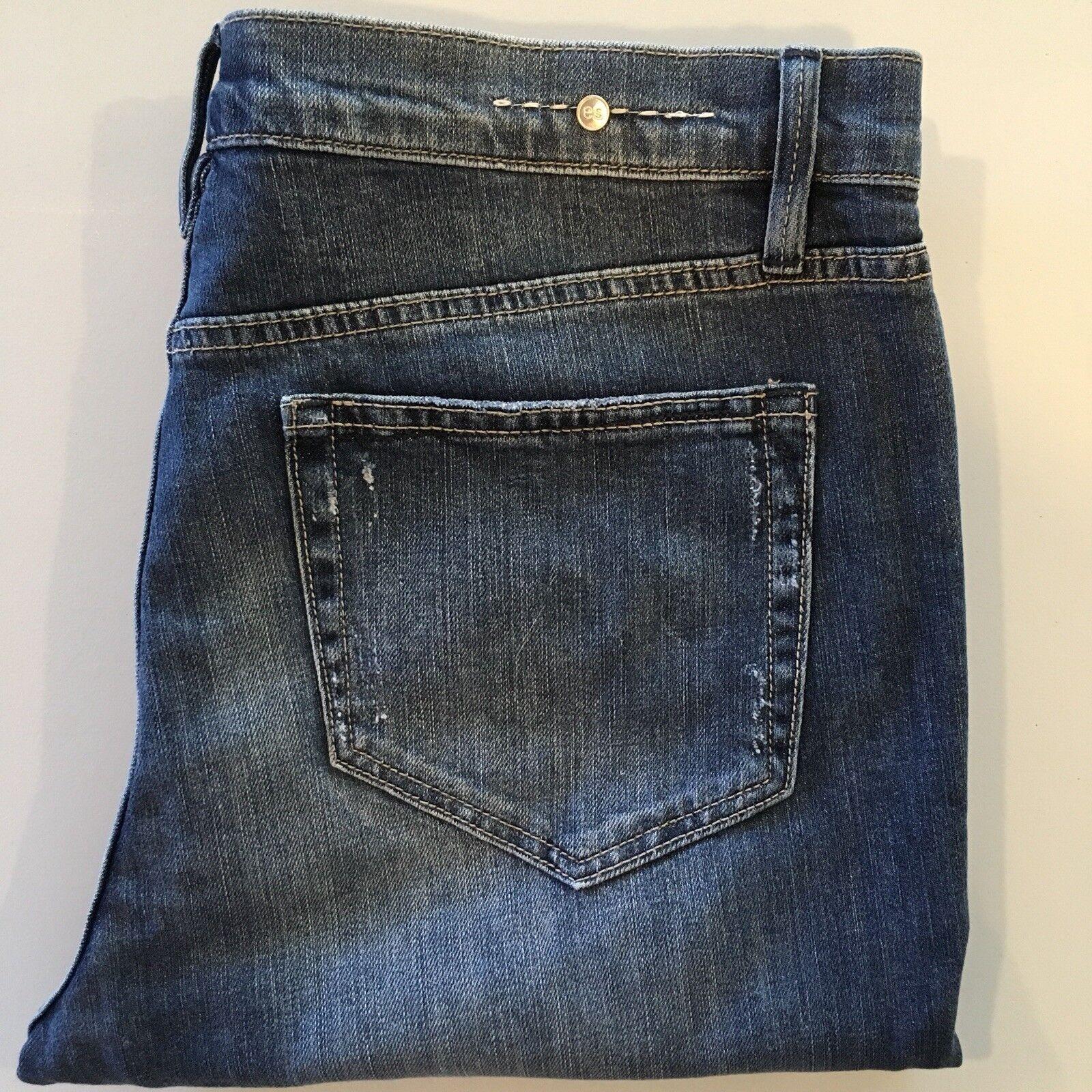 Earnest sewn Blake H.W skinny  Factory distressed jeans (READ BELOW) Size 30
