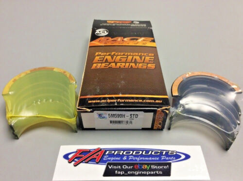 ACL 5M590H-STD Ford 289 302 Windsor High Performance Main Bearing Set