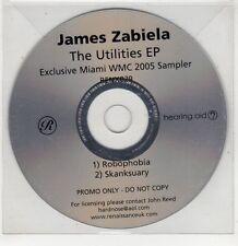 (GU259) James Zabiela, The Utilities EP - 2005 DJ CD