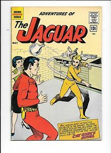 Adventures-Of-The-Jaguar-6-May-1962-Cat-Girl-039-s-rival