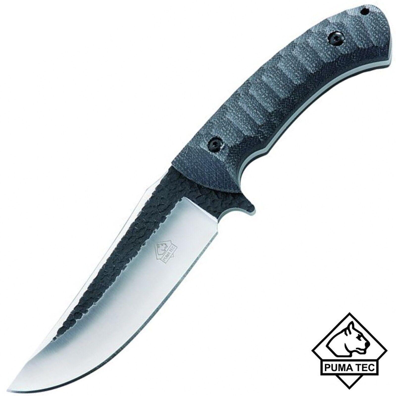 Puma TEC TEC TEC Gürtelmesser AISI420 Micarta−Griffschalen Lederscheide Jagd-Messer 99ffd9