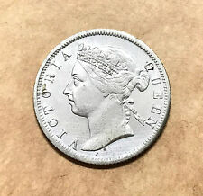 Straits Settlement 20 Cents (1900) Victoria Queen Silver coins - washes