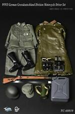ToysCity 1/6WWII German Grossdeutschland Division Motorcycle Driver Set in stock