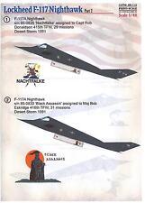 Print Scale Decals 1/48 LOCKHEED F-117 NIGHTHAWK Stealth Fighter Part 2