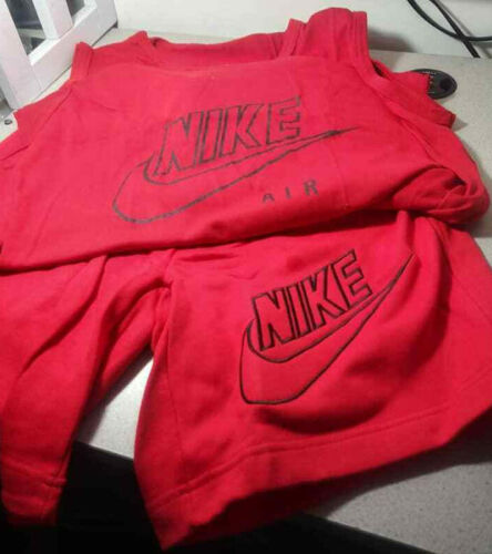 Vintage 90's NIKE Air Tank W/Embroidered NIKE Swea
