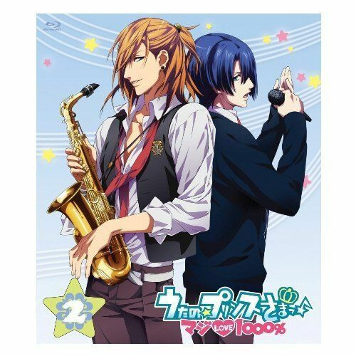 UTA NO PRINCE SAMA MAJI LOVE 1000% 2-JAPAN Blu-ray+CD Q85
