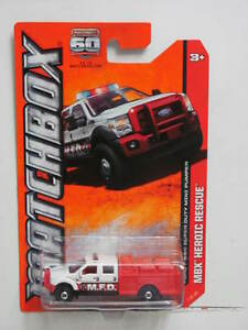 matchbox 2013 mbx heroic rescue ford f 550 super duty mini. Black Bedroom Furniture Sets. Home Design Ideas