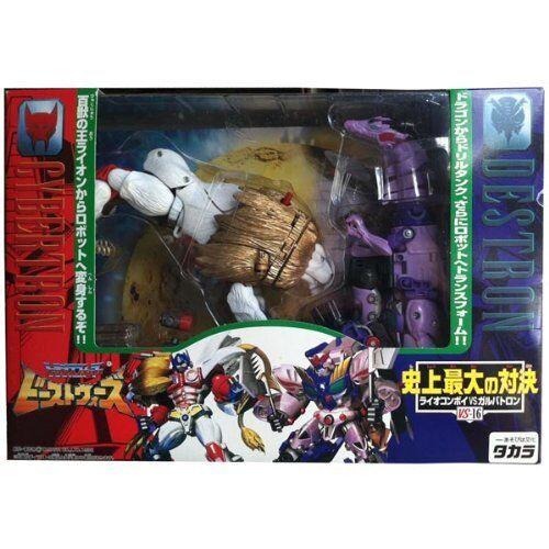 Transformers Takara giapponese Beast guerras VS16 Leone Leo CONVOGLIO VS GALVATRON