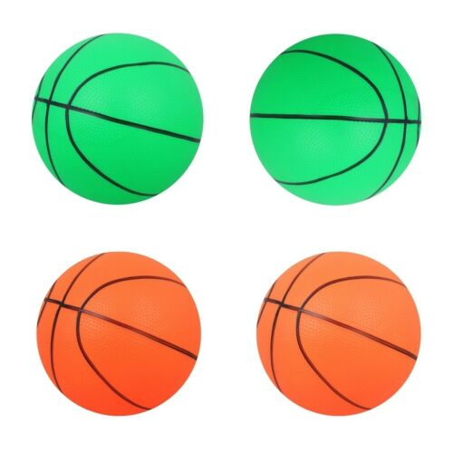 4pcs PVC 16cm Mini Inflatable Basketball Blow Ball Kids Child Sports Toy