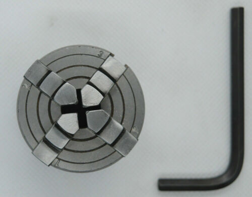 NEW Mini 4 Jaw Independent Lathe Chuck 50mm Back Thread M12x1mm