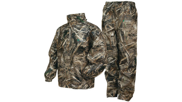 xl frogg frog toggs all sports realtree max 5 camo rain suit wear
