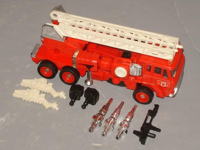 G1 TRANSFORMER AUTOBOT INFERNO COMPLETE LOT   6 CLEANED