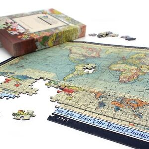 Personalised world map jigsaw puzzle gift ebay image is loading personalised world map jigsaw puzzle gift gumiabroncs Image collections