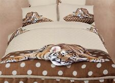 Dolce Mela Queen Bedding Animal Print Design Duvet Cover Set DM485Q Duvet Cover