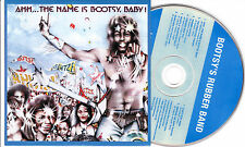 CD CARTONNE CARDSLEEVE 8T BOOTSY'S RUBBER BAND AHH..THE NAME IS BOOTSY, BABY