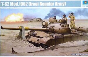 Trumpeter 1:35 T-62 Mod.1962 (irakien armée régulière) Tank Model Kit