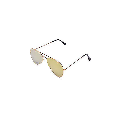 Sunglass Aviator style Royal shade shade In Mirror lens in Flat Lens(Goggles