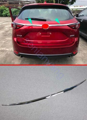 Rear Truck Molding Cover Trim for 2017-2018 Mazda CX-5 ABS Chrome Decoration