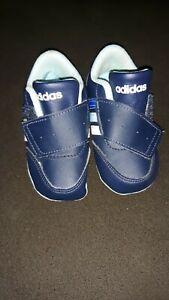 baby shoes boy, size, US 2C, Navy Blue w/white, powder ...