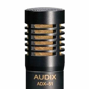 audix adx 51 condenser microphone adx51 acoustic guitar drum overhead room 687471061152 ebay. Black Bedroom Furniture Sets. Home Design Ideas