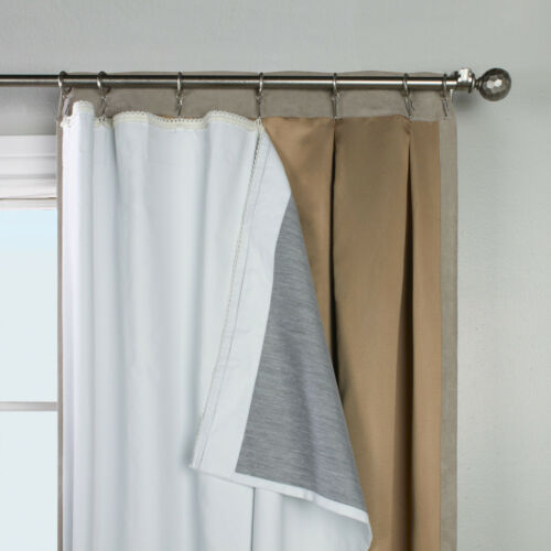 """Thermalogic Ultimate Liner for an 84/"""" panel Blackout Insulated Curtain Liner"""