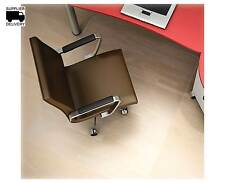 "Deflect-O EconoMat Hardwood Floor Chairmat, Non-studded, 36"" x 48"", Clear"