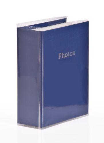 BLUE 6/'/' x 4/'/' Slipin Photo Album Holds 120 Photos Photography Storage