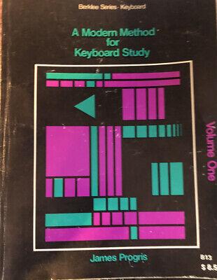 James Progris A Modern Method For Keyboard Study Volume 1-2-3-4 Berklee