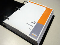 Case W7 Loader Parts Catalog, Manual, List, Book, With Binder