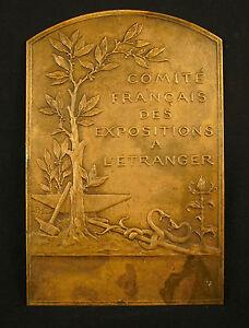 Medalla-Comite-Franceses-exposiciones-a-l-039-Extranjero-sc-Luis-Arrancar-20cm-medal