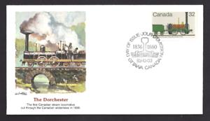 Canada  # 1000  Fleetwood Locomotive - Dorchester    New 1983 Unaddressed