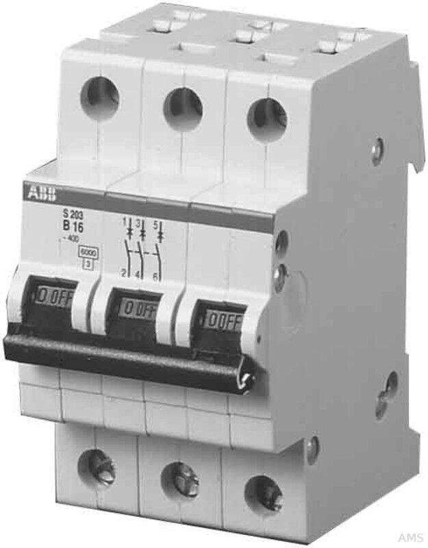 ABB Stotz Sicherungsautomat B,6kA,6A,3P S 203-B 6 | Modern Und Elegant