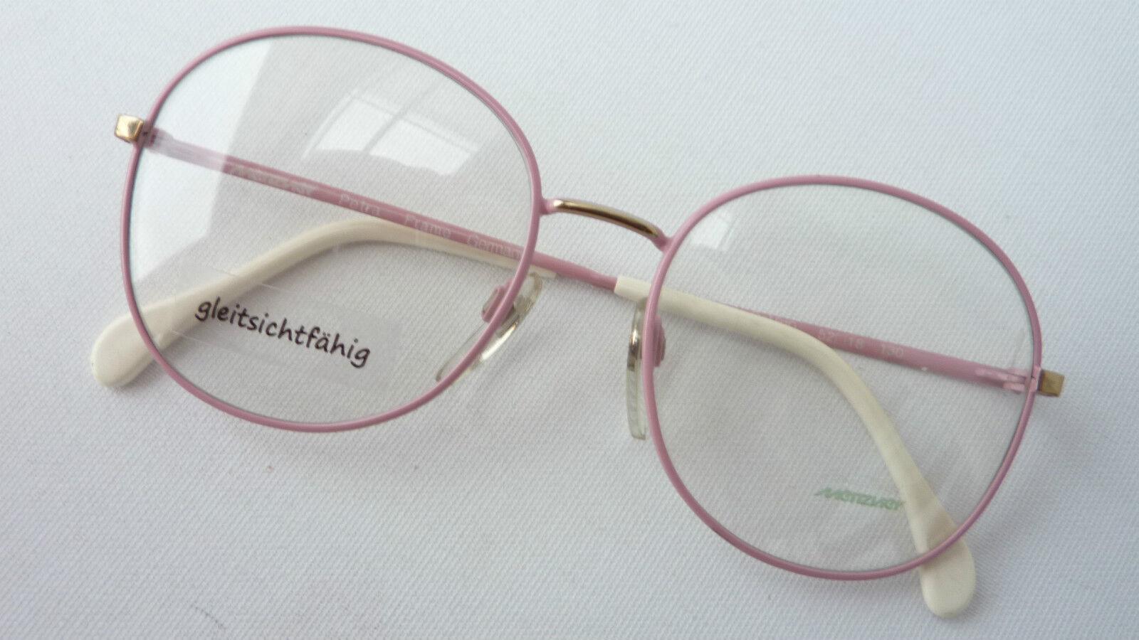 Meitzner Kult- Brille Rosa groß rundliche Form Form Form 70er Vintagebrillen Gr. S 5218   Große Ausverkauf    Flagship-Store    Günstige Preise  b85e27